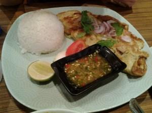 Prawn Omelette Rice