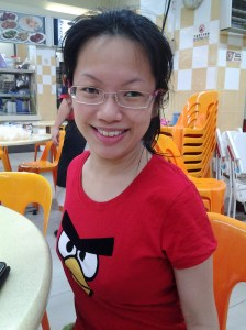 "My wife the ""kee jiao"""
