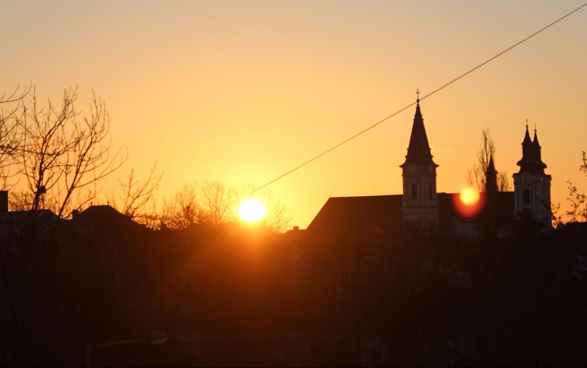 Hungary Winter Drive - Szekesfehervar Forever!